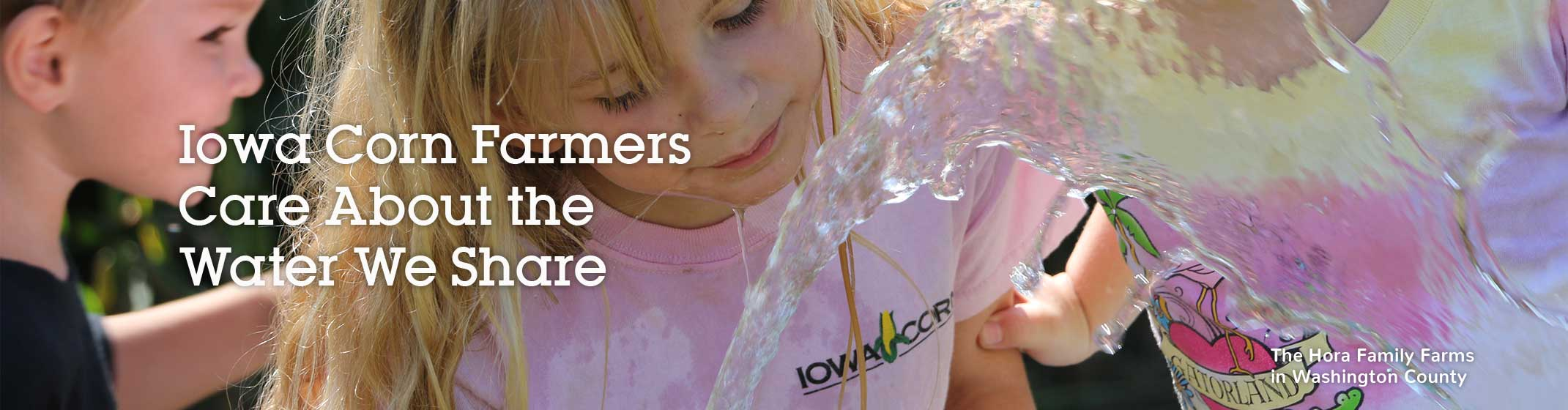 Working Together for Clean Water page banner